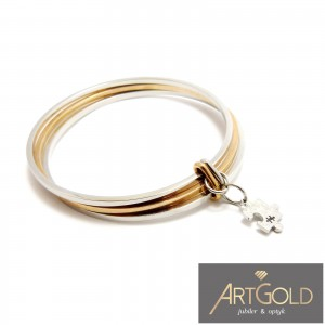 BRANSOLETKA  MANOKI TYPU BANGLE